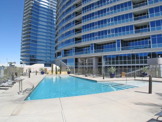 Panorama-Towers-las-Vegas-Condos-Pool-Area-Travis-Scholl-Top-High-Rise-Real-Estate-agent