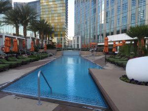 Mandarin-Oriental-Las-Vegas-Penthouses-For-Sale-Pool