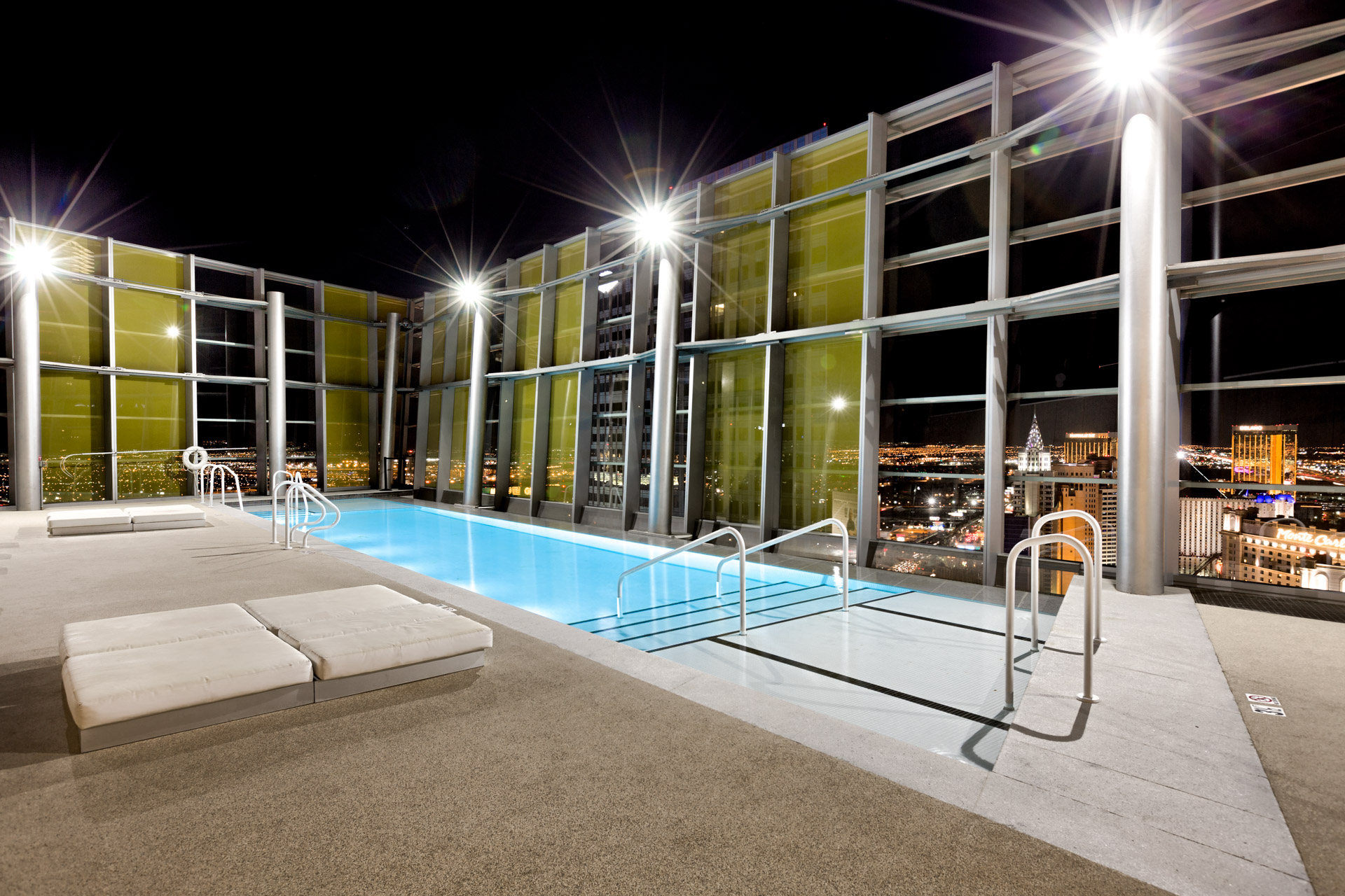 veer-towers-rooftop-pool-at-night